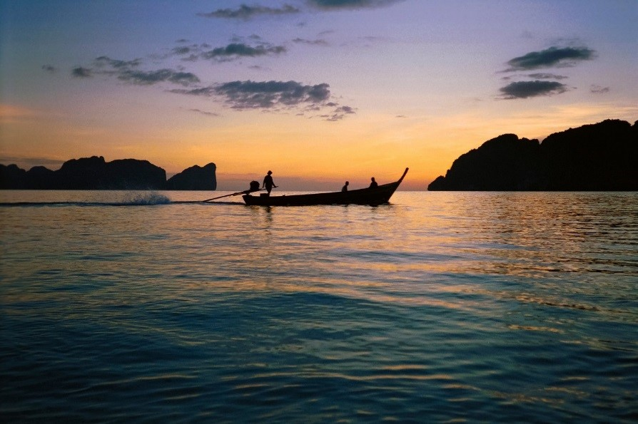 Thailand sunset cruise