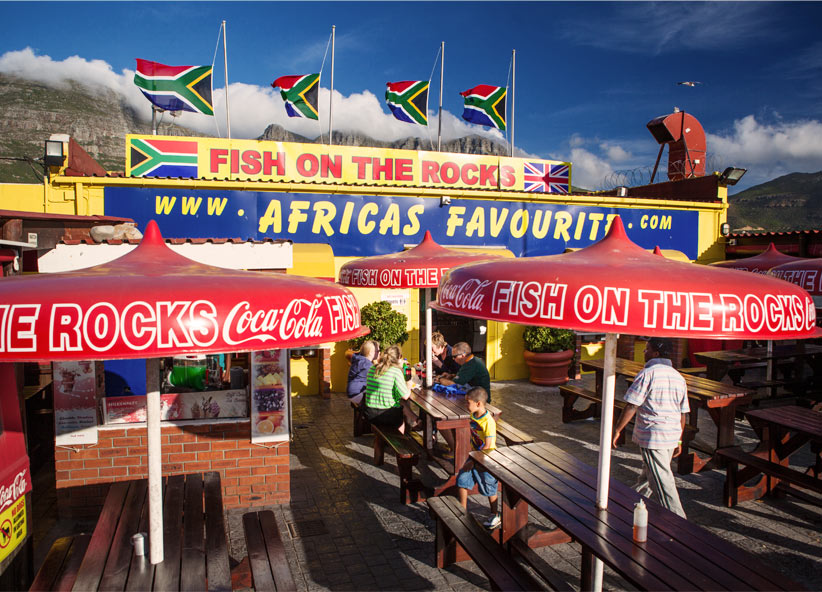 Beach Breaks And Working Harbours In Cape Town