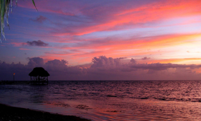 Sunsets Around the World: Belize