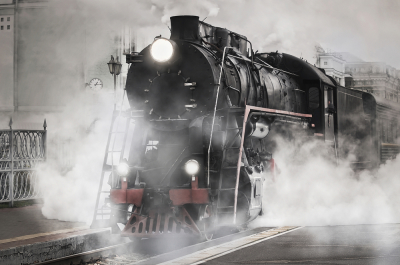 The amazing history of train transport