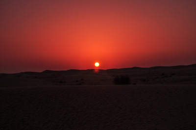 Sunsets around the world: United Arab Emirates