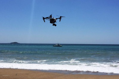Drone technology: the key to protecting both sharks and humans?