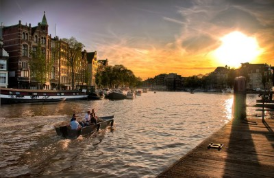 Sunsets around the world: The Netherlands