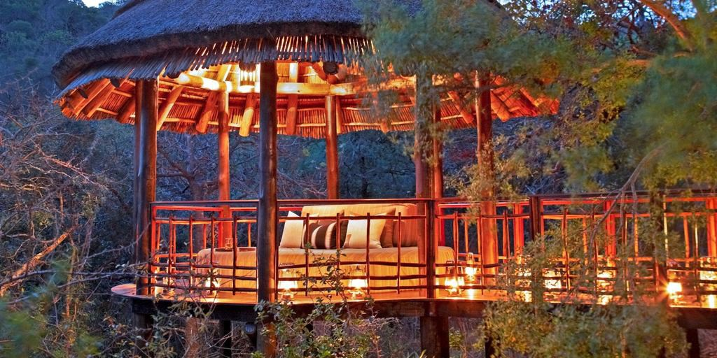 Luxurious game lodges in Africa