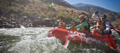 Top 5 white water river rafting locations in South Africa